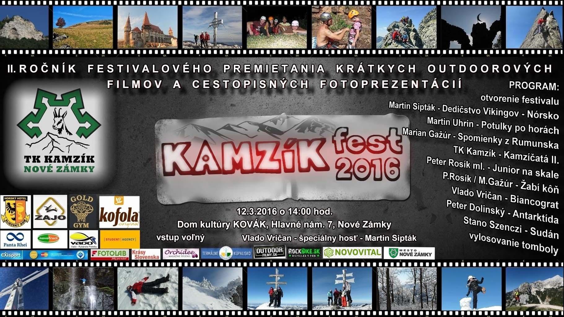 313d5b9cd Kamzíkfest 2016 - Kam v meste | moje Zamky